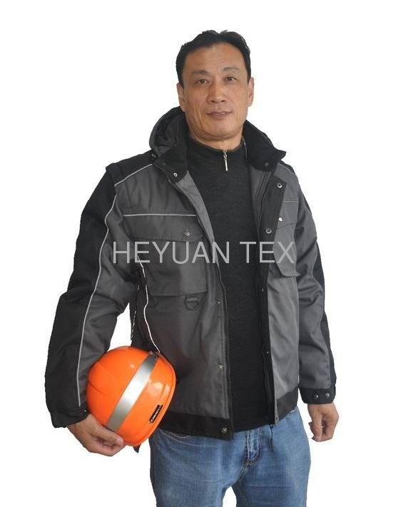 Fashion Classic Mens Winter Work Jackets Durable And Breathable With Hood